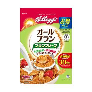 日本ケロッグ ブランフレークプレーン徳用袋 1袋(435g)【代引不可】