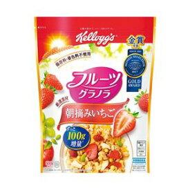 日本ケロッグ フルーツグラノラ朝摘みいちご 1袋(600g)【代引不可】