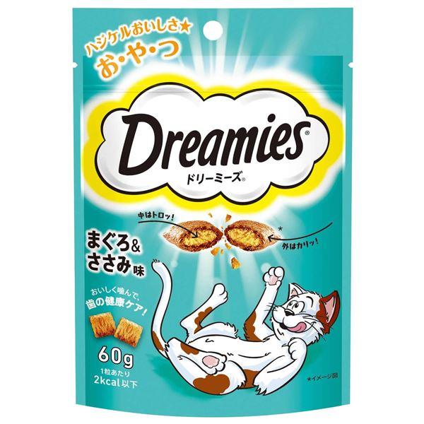 (まとめ) DRE8 ドリーミーズ まぐろささみ味60g 〔猫用フード〕〔ペット用品〕 〔×36セット〕【代引不可】