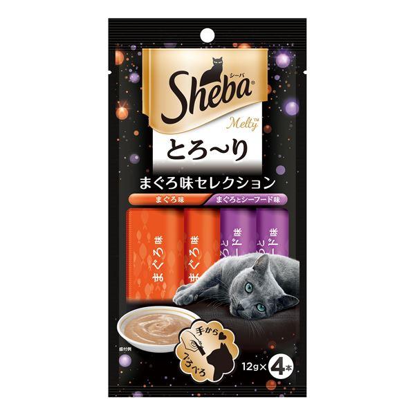 (まとめ) SMT10シーバメルティまぐろ味12g×4P 〔猫用フード〕〔ペット用品〕 〔×48セット〕【代引不可】