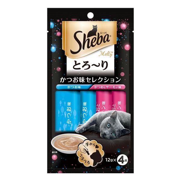 (まとめ) SMT11シーバメルティかつお味12g×4P 〔猫用フード〕〔ペット用品〕 〔×48セット〕【代引不可】
