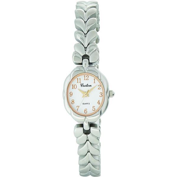 CROTON(クロトン) 腕時計 3針 オーバル RT-154L-9【代引不可】