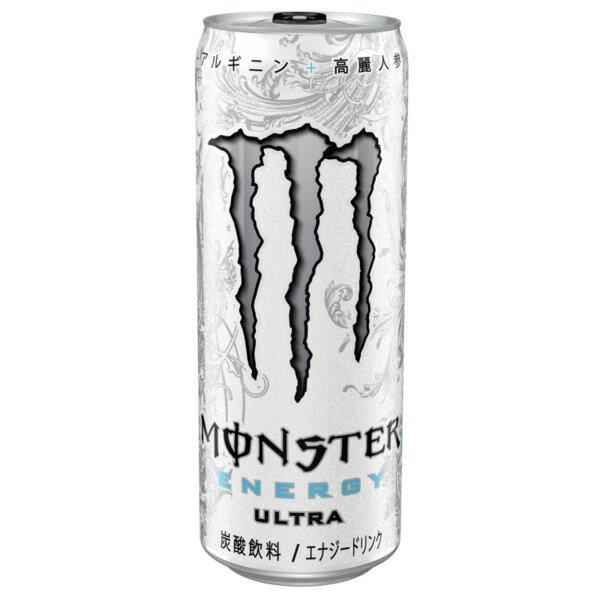 【送料無料】〔まとめ買い〕アサヒ モンスター ウルトラ 缶 355ml×24本(1ケース)【代引不可】