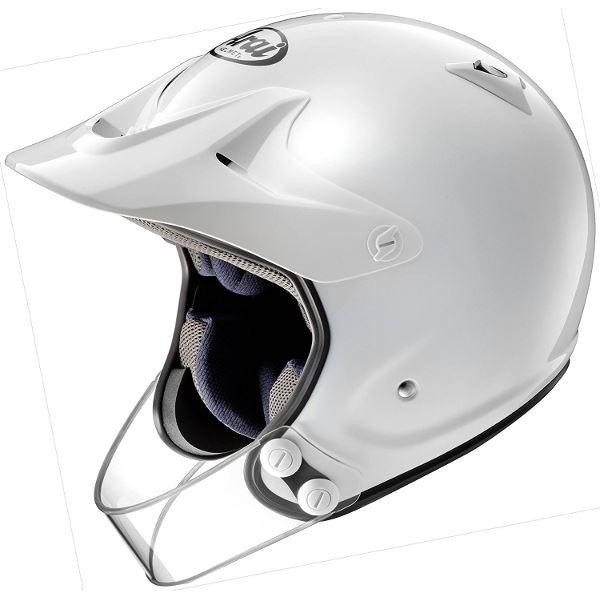 【送料無料】アライ(ARAI) オフロード HYPER-T PRO ホワイト 59-60(Lサイズ)【代引不可】