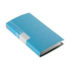(まとめ) バッファローCD&DVDファイルケース ブックタイプ 48枚収納 ブルー BSCD01F48BL 1個 〔×30セット〕【代引不可】