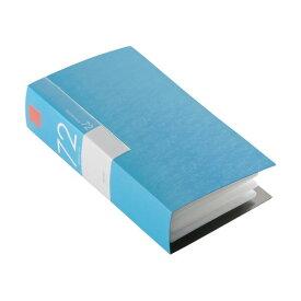 (まとめ) バッファローCD&DVDファイルケース ブックタイプ 72枚収納 ブルー BSCD01F72BL 1個 〔×10セット〕【代引不可】