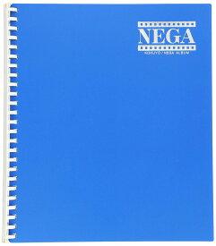 コクヨ ネガアルバム 四ツ切サイズ 6段ポケット 25穴 青 ア-230NB【北海道・沖縄・離島配送不可】
