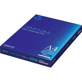 【送料無料】(まとめ買い)コクヨ ラミネートフィルム パウチフィルム 150ミクロン A4 100枚 MSP-15F220307N 〔3冊セット〕