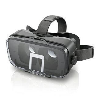 Elcom VR玻璃杯雙重透鏡多功能色差補正黑色P-VRGR03BK
