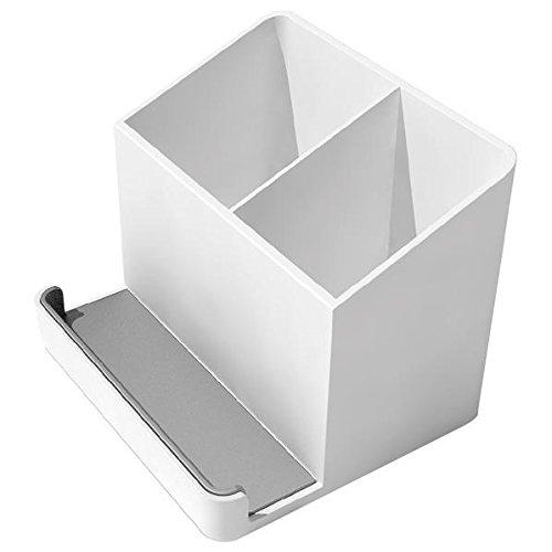 エレコム テレビ用リモコンスタンド スマホを置ける ホワイト AVD-TVEORS01WH