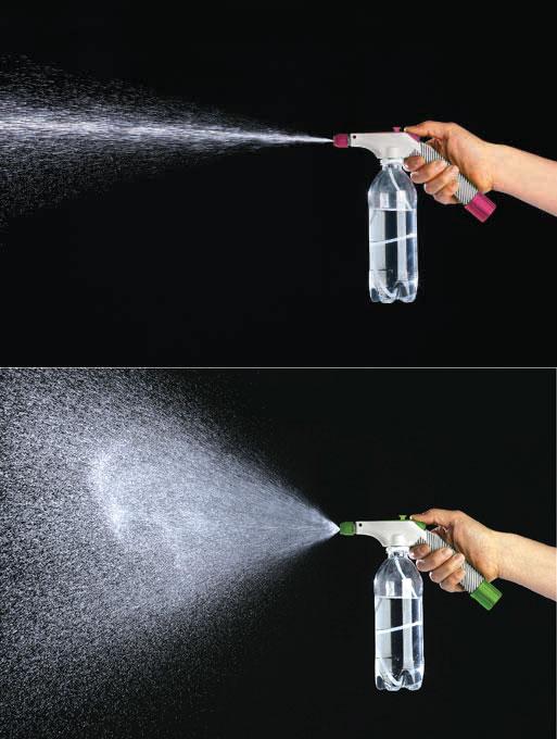 ペットボトル専用加圧式スプレーノズル F6536 F6550