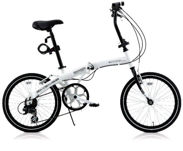 【送料無料】WACHSEN(ヴァクセン) 20インチ 折りたたみ自転車 アルミフレーム 6段変速 Wei&szlig(ウェイブ) BA-101【代引不可】