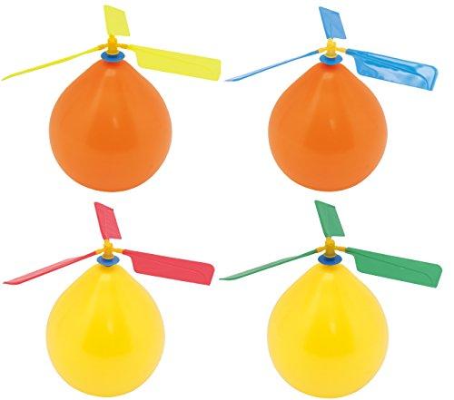 池田工業社 風船ヘリコプター(色指定不可) 〔まとめ買い24個セット〕 000055570【代引不可】