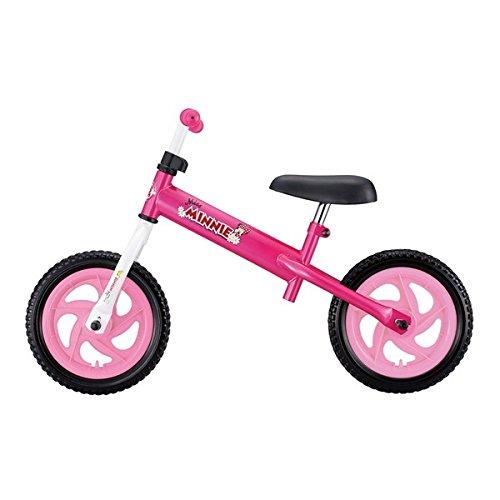 ides キッズライダー ミニーマウス (36365) ピンク [ペダルレスバイク]【代引不可】