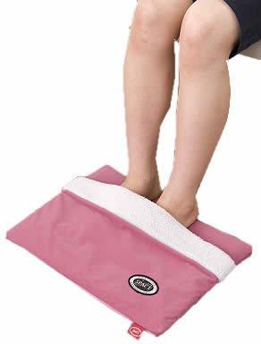 ぬくぬくレッグマット 足袋タイプ ピンク【代引不可】
