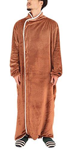 BIBILAB (ビビラボ) はだけない着る毛布 ベージュ Lサイズ 2018モデル HFM-L-BG-18