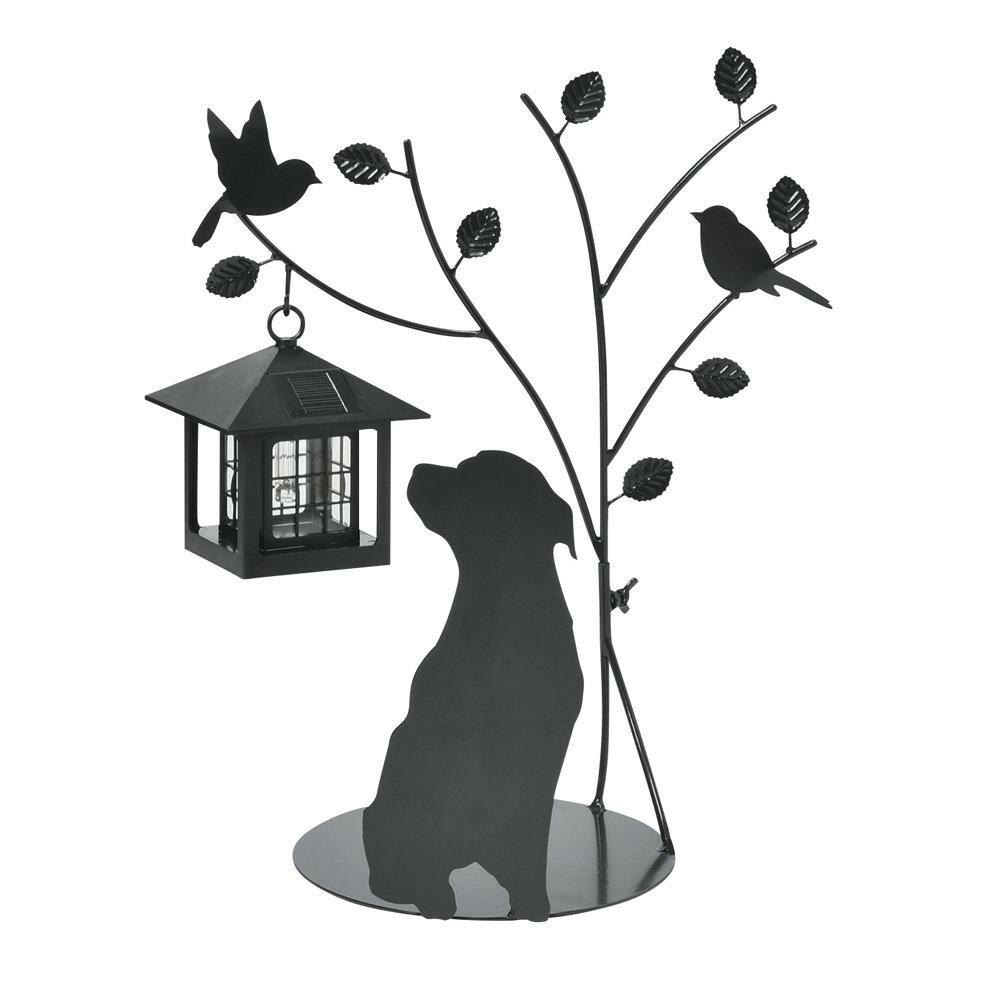 セトクラフト シルエットソーラー(Tree&Dog) SI-1953-900【代引不可】