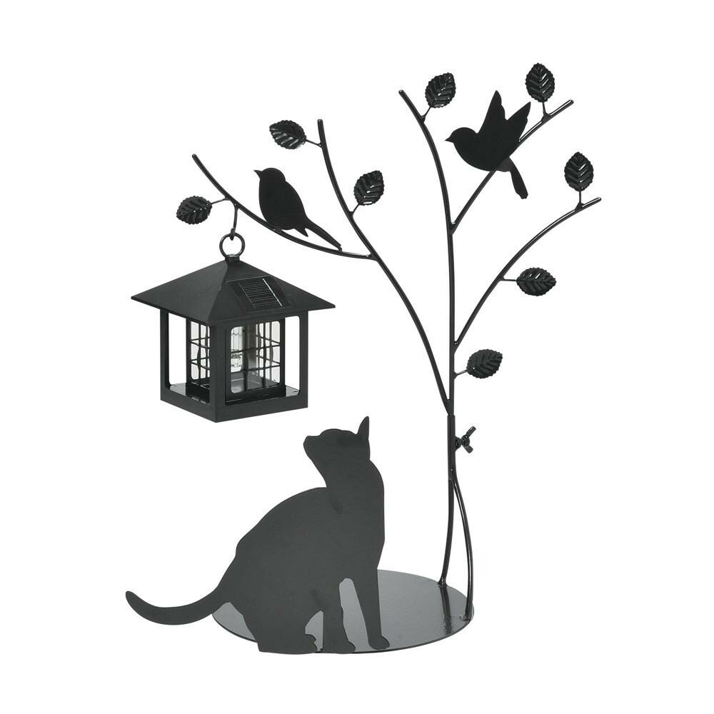 セトクラフト シルエットソーラー(Tree&Cat) SI-1954-900【代引不可】