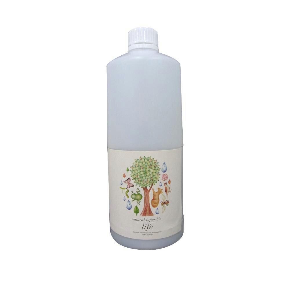 天然スーパーバイオ210 LIFE 消臭・除菌剤 1L 詰替え用【代引不可】