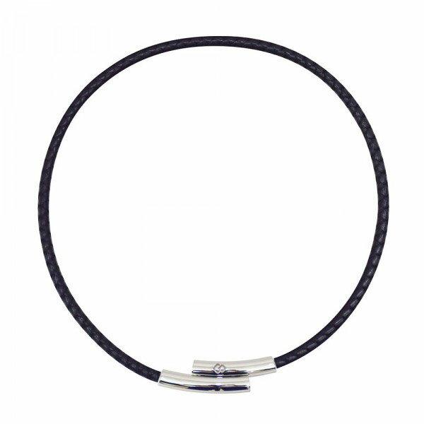 【送料無料】コラントッテ TAO ネックレス FINO フィーノ Mサイズ (約43cm) ブラック・ABAAI01M【代引不可】