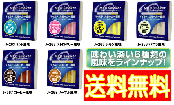 【送料無料】マイルドスモーカー専用交換フィルター10個セット【あす楽対応】