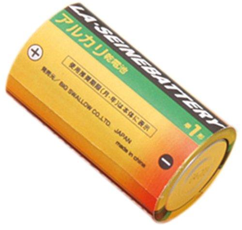 LA・SEINE BATTERY乾電池アルカリ単一1P 〔まとめ買い10個セット〕 7-58-07