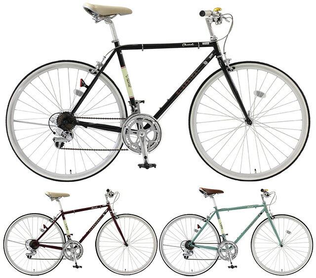 【送料無料】TOP ONE(トップワン) 700C クロスバイク 14段変速 Classical フレームサイズ460mm YCR7014-4D-460【代引不可】