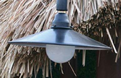 【送料無料】ジャービス商事 LPIポールセット専用 ガーデンライト U-1 41002 (ライトのみ・ポール部なし)【代引不可】