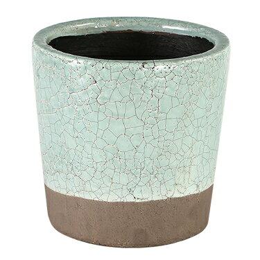 ダルトン 鉢 カラー グレーズド ポット COLOR GLAZED POT CLASSIC GREEN CH14-G516CGN【代引不可】
