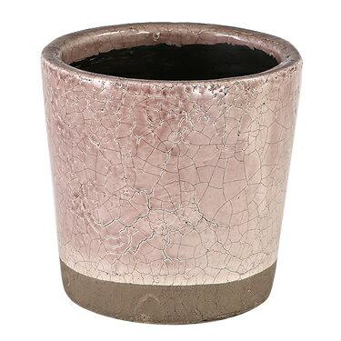 ダルトン 鉢 カラー グレーズド ポット COLOR GLAZED POT LIGHT PURPLE CH14-G516LPL【代引不可】