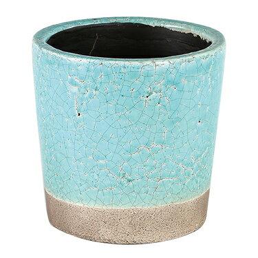 ダルトン 鉢 カラー グレーズド ポット COLOR GLAZED POT TURQUOISE CH14-G516TQ【代引不可】