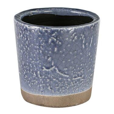 ダルトン 鉢 カラー グレーズド ポット COLOR GLAZED POT VIOLET CH14-G516VL【代引不可】