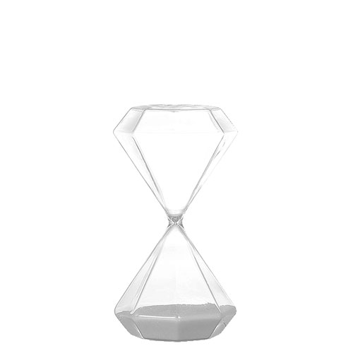 ダルトン 砂時計 ダイアモンド アワーグラス DIAMOND HOURGLASS M GS555-389M【代引不可】