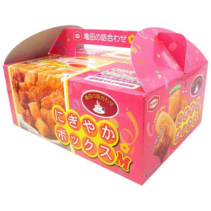 〔ギフト〕亀田製菓 にぎやかボックスM 10048 【代引不可】