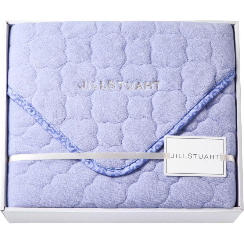 【ギフト】ジルスチュアート シンカーパイル敷きパッド ブルー 2247-00351【代引不可】