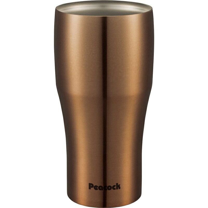 【ギフト】ピーコック魔法瓶 ステンレスタンブラー440ml クリアゴールド ATB-440NC【代引不可】