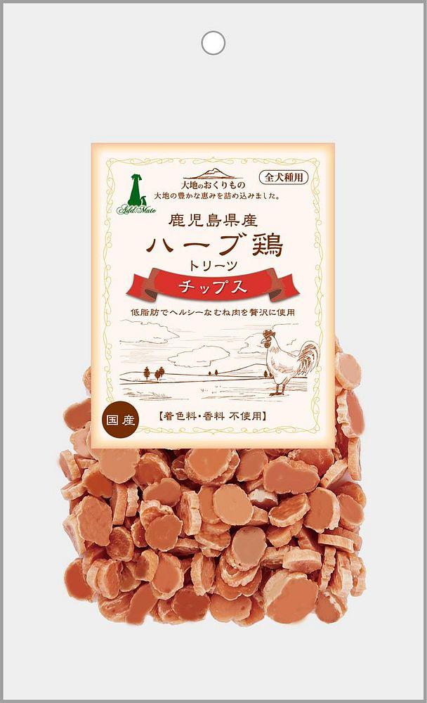 アドメイト 鹿児島県産 ハーブ鶏トリーツチップス 90g 犬用【代引不可】