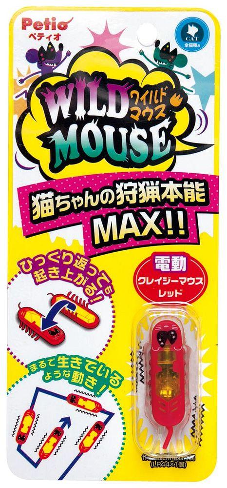 ペティオ ワイルドマウス クレイジーマウス 赤【代引不可】