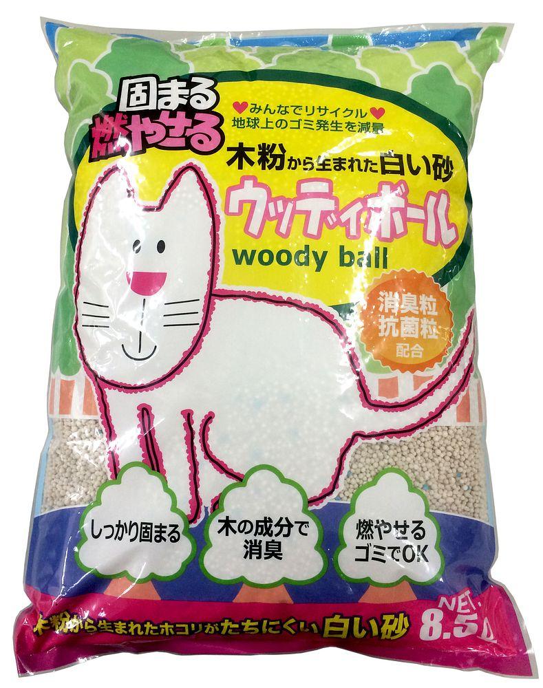 ペットプロ ウッディボール8.5L【代引不可】