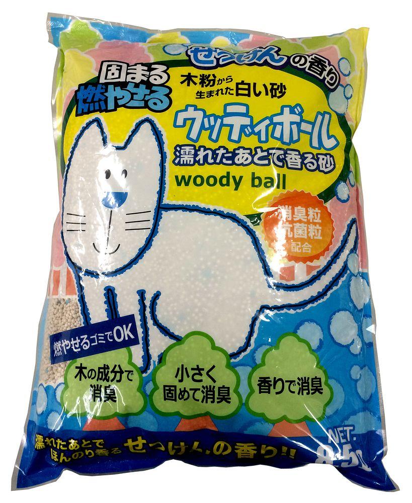 ペットプロ ウッディボール8.5L せっけんの香り【代引不可】