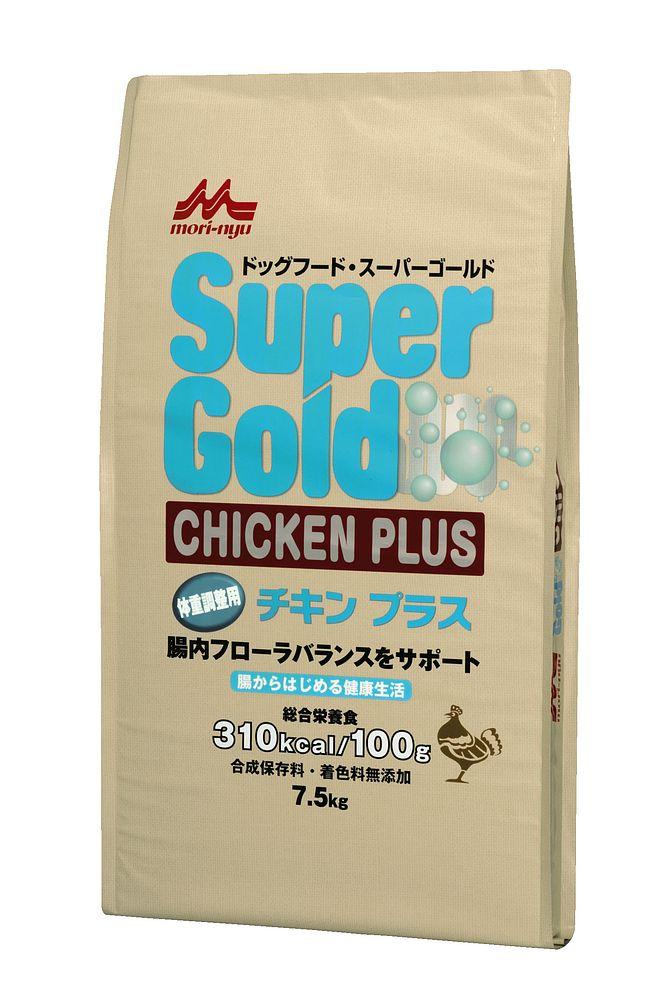 森乳サンワールド スーパーゴールド チキンプラス 体重調整犬用 7.5kg ドッグフード【代引不可】