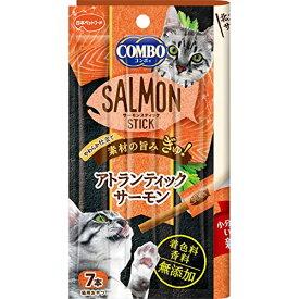 (まとめ買い)日本ペットフード コンボ キャット サーモンスティック アトランティックサーモン 7本 猫用 〔×24〕【代引不可】