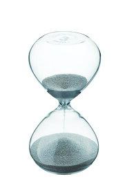 青芳 プレシャス サンドグラス 3分計 シルバー 【北海道・沖縄・離島配送不可】