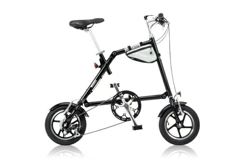 【送料無料】NANOO 12インチ 折りたたみ自転車 7段変速 FD-1207 ブラック 18360【代引不可】
