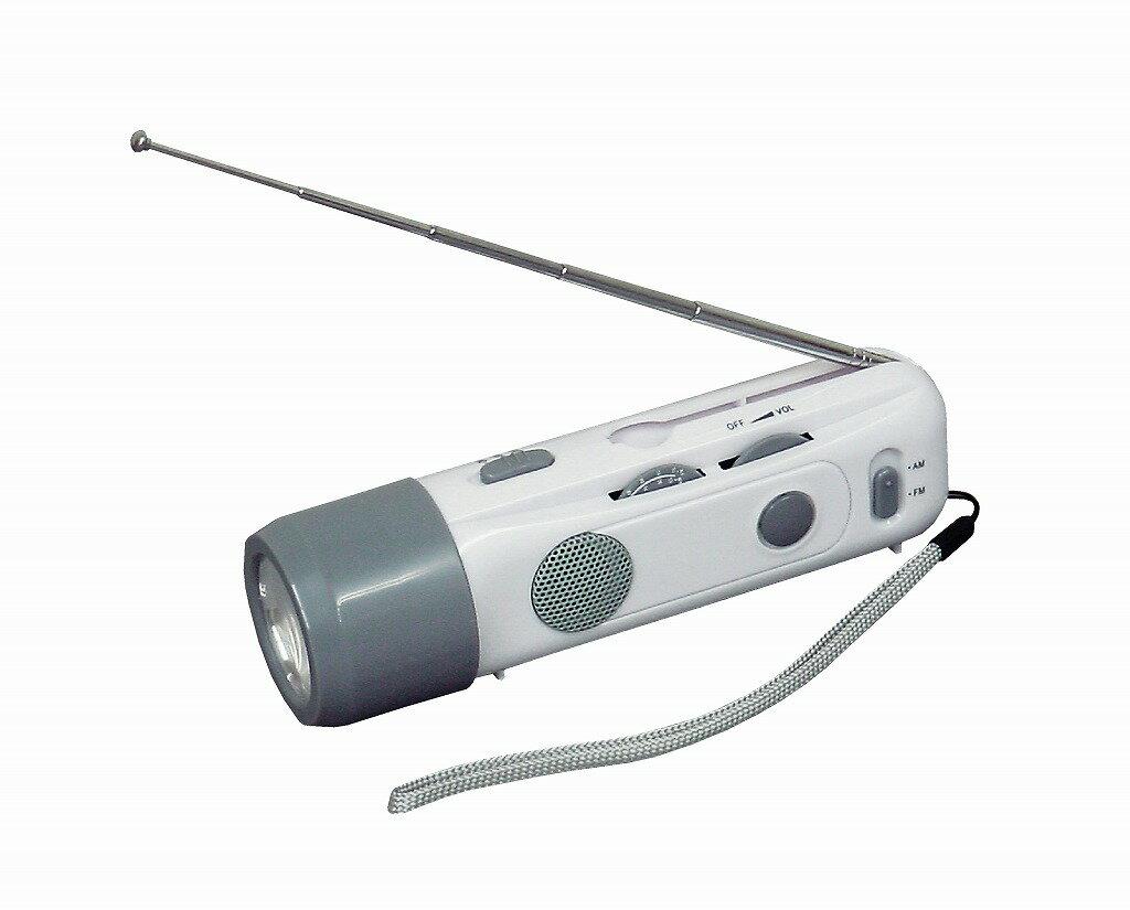 〔LEDライト〕アラーム付LEDラジオライト ARA-3401【代引不可】