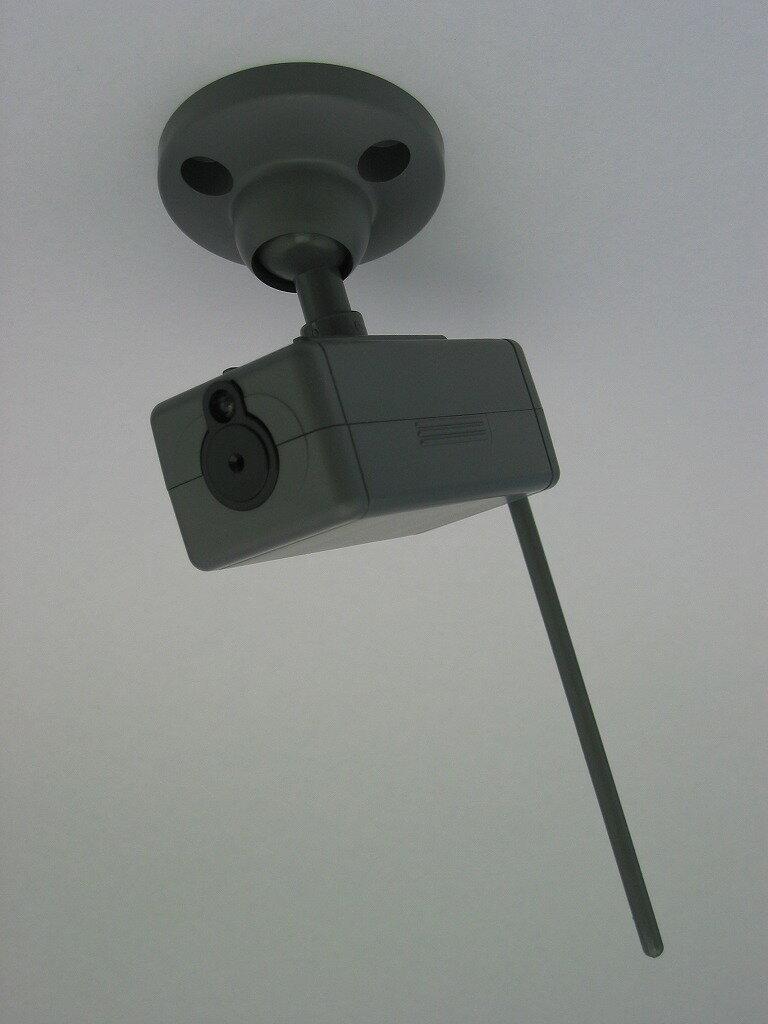 CCD防犯ダミーカメラ グレー ADC-203GR【代引不可】