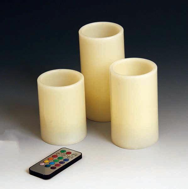 東洋石創 ガーデンコレクション LEDキャンドル 3個セット(大・中・小) 86940 【代引不可】