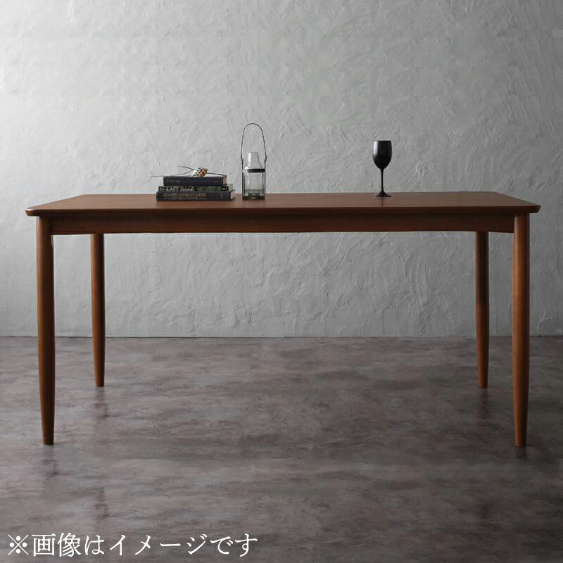 【送料無料】アンティーク調ウィンザーチェアダイニング〔Oakham〕オーカム ウォールナット材テーブルのみ単品販売(W120)【代引不可】