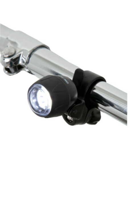 ヤザワ 3灯白色LEDミニバイクライト LB101BK