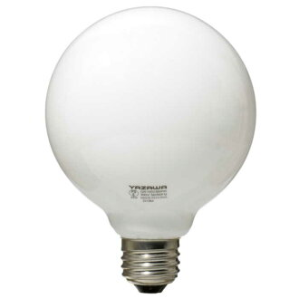 Yazawa ball light bulbs 40 W-shaped white GW 100V38W95